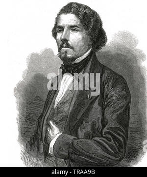 FERDINAND EUGENE DELACROIX (1798-1863) French Romantic artist Stock Photo