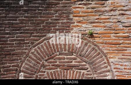 Two-Colored Brick wall