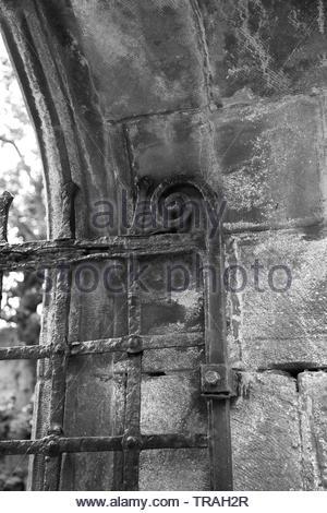 Dornoch Castle, Scotland - Stock Photo