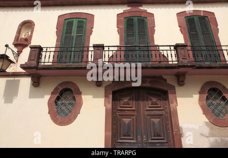 Portugal, Algarve, Silves, house, traditional architecture, - Stock Photo