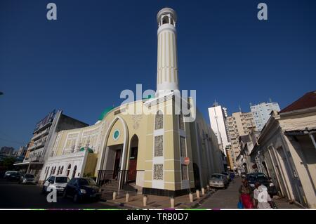 Jumma Masjid mosque, Maputo, Mozambique - Stock Photo