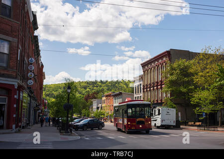 Cooperstown, New York, USA - Stock Photo