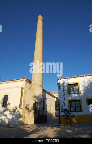 Olive oil museum Hacienda La Laguna. Baeza, Jaén province, Andalusia, Spain. - Stock Photo
