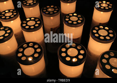 Lumignons.  Candle lights. - Stock Photo