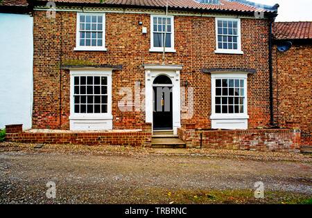 Raby House, Chapel Row, Sadberge, Borough of Darlington, England - Stock Photo