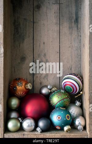Box Christbaumkugeln.Weihnachtsschmuck Christbaumkugeln Stock Photo 276613818 Alamy