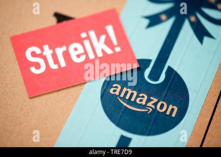 walkout at amazon, Germany - Stock Photo