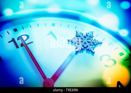 time change, winter time, Germany - Stock Photo
