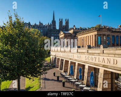 National Gallery of Scotland - Stock Photo