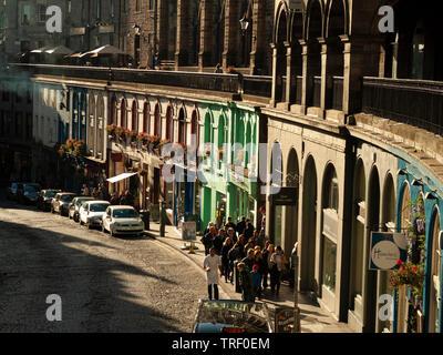 Victoria Street, Edinburgh - Stock Photo