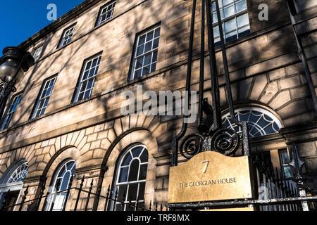 The Georgian House, NTS, Edinburgh - Stock Photo