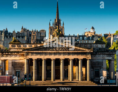 National Gallery of Scotland. - Stock Photo
