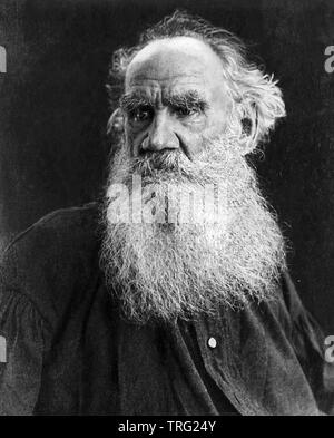 LEO TOLSTOY (1828-1910) Russian novelist and writer - Stock Photo