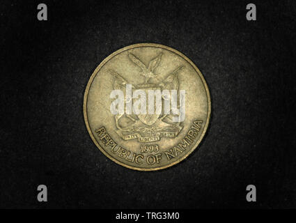 5 Dollars, Namibia, 1993 - Stock Photo