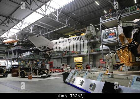 Berlin-Tempelhof. D-Aqui. Exhibition 'Apollo and Beyond'. Appolo 17. Musée des techniques de Spire. Technik Museum Speyer. Allemagne. - Stock Photo