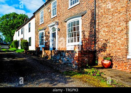 Chapel Row, Sadberge, Borough of Darlington, England - Stock Photo