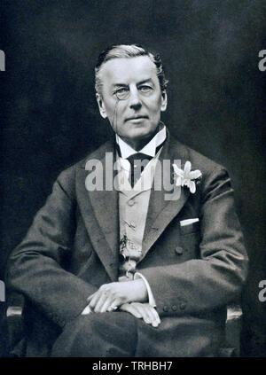 JOSEPH CHAMBERLAIN (1836-1914) British politician and statesman - Stock Photo