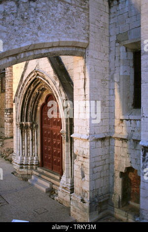 Portugal, Lisbon, Bairro Alto, Convento do Carmo, convent, - Stock Photo