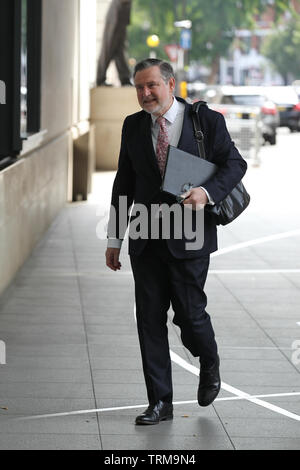 London, UK. 9th June 2019. Barry Gardiner Shadow Secretary of State for International Trade seen at the BBC studios Credit: WFPA/Alamy Live News - Stock Photo