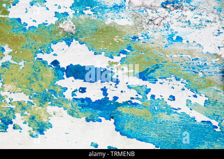 Boat Hull, Keel, Abstract, Paint, Weathered, Scratched, Coast, Vessel, Dirt, Beach, Southend, Essex © Clarissa Debenham / Alamy - Stock Photo