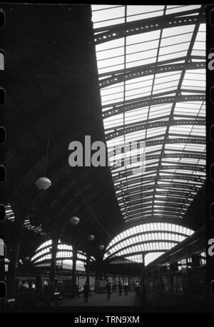 York Railway Station, North Yorkshire, c1955-c1980. Creator: Ursula Clark.