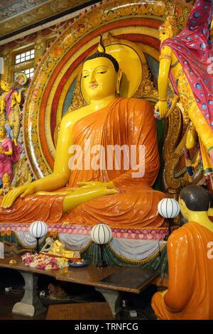 gangaramaya buddhist temple and museum colombo sri lanka - Stock Photo