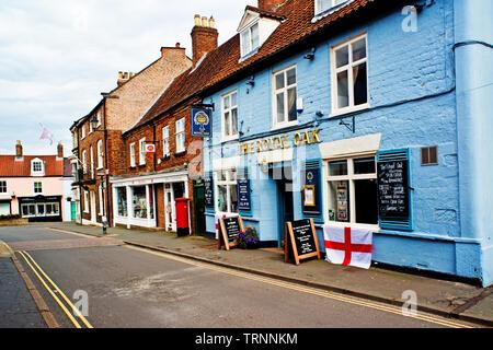 The Royal Oak, Malton, North Yorkshire, England - Stock Photo