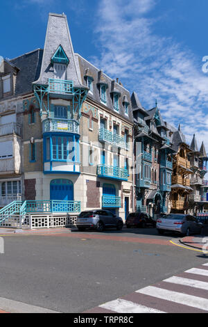 Old houses in normandy - Stock Photo