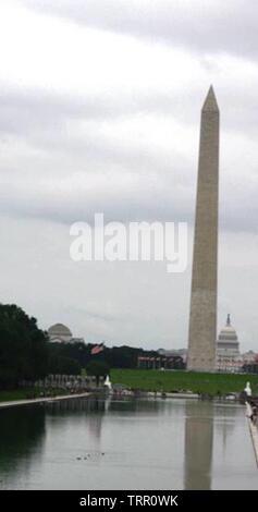 Washington Monument in Washington, D.C., USA - Stock Photo