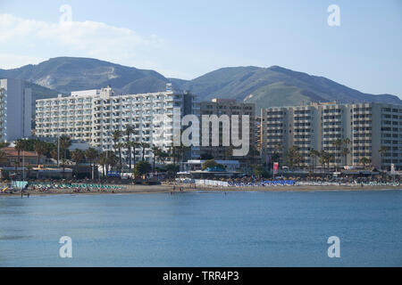 View of Torremolinos. Málaga province, Andalusia, Spain. - Stock Photo