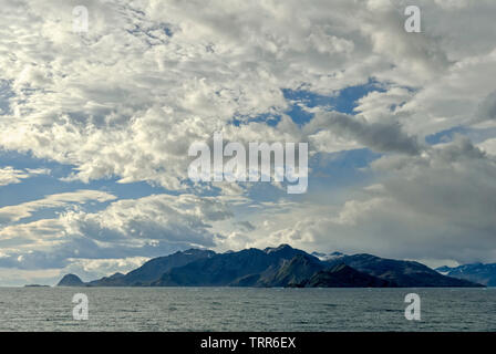 East coast of South Georgia; Antartica - Stock Photo