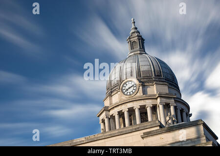 Nottingham Council House, Nottingham city hall, Old Market Square, Nottingham City Centre, England, UK