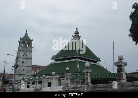 Masjid Kampung Kling Malacca City, Malaysia - Stock Photo