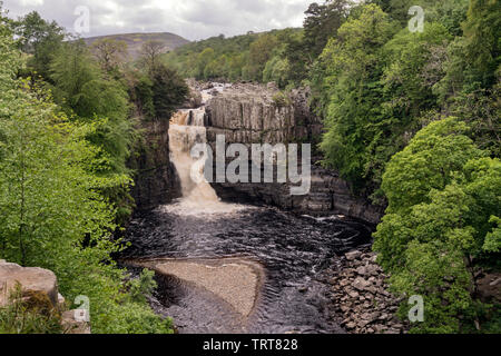 High Force, Teesdale. - Stock Photo