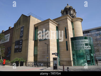 The Laing Art Gallery Newcastle upon Tyne - Stock Photo
