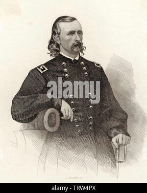 GEORGE ARMSTRONG CUSTER (1839-1876) United States Army officer