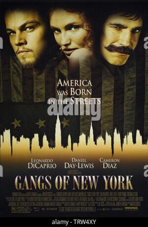 GANGS OF NEW YORK (2002). Copyright: Editorial use only. No merchandising or book covers. This is a publicly distributed handout. Access rights only, no license of copyright provided. Only to be reproduced in conjunction with promotion of this film. Credit: MIRAMAX / Album - Stock Photo