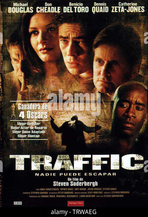 Film Poster Traffic 2000 Stock Photo Alamy