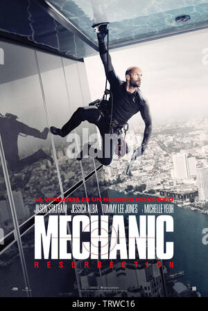 MECHANIC: RESURRECTION (2016). Copyright: Editorial use only. No merchandising or book covers. This is a publicly distributed handout. Access rights only, no license of copyright provided. Only to be reproduced in conjunction with promotion of this film. Credit: CHARTOFF-WINKLER PROD/DAVIS-FILMS/ME2/MILLENNIUM FILMS / Album - Stock Photo