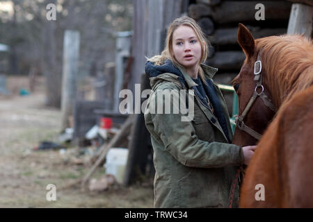 JENNIFER LAWRENCE in WINTER'S BONE (2010). Copyright: Editorial use only. No merchandising or book covers. This is a publicly distributed handout. Access rights only, no license of copyright provided. Only to be reproduced in conjunction with promotion of this film. Credit: ANONYMOUS CONTENT/WINTER'S BONE PRODUCTIONS / Album - Stock Photo