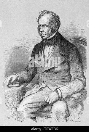 JOHN HENRY TEMPLE, 3rd Viscount Palmerston (1784-1865) British statesman - Stock Photo
