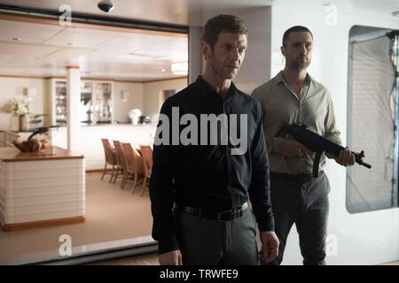 SAM HAZELDINE in MECHANIC: RESURRECTION (2016). Copyright: Editorial use only. No merchandising or book covers. This is a publicly distributed handout. Access rights only, no license of copyright provided. Only to be reproduced in conjunction with promotion of this film. Credit: CHARTOFF-WINKLER PROD/DAVIS-FILMS/ME2/MILLENNIUM FILMS / Album - Stock Photo