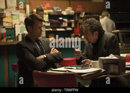 AL PACINO and JOSH DUHAMEL in MISCONDUCT (2016). Copyright: Editorial use only. No merchandising or book covers. This is a publicly distributed handout. Access rights only, no license of copyright provided. Only to be reproduced in conjunction with promotion of this film. Credit: MIKE AND MARTY PRODUCTIONS / Album - Stock Photo