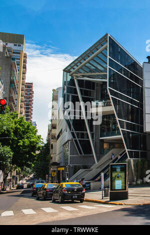 Exterior of the Recoleta Shopping Mall in Buenos Aires, Argentina - Stock Photo