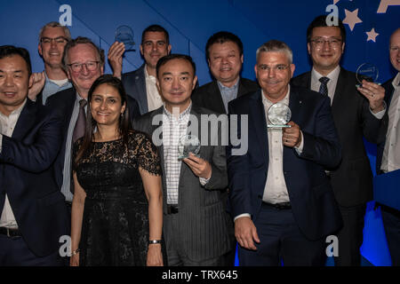 London, UK. 12th June, 2019. 5G Awards ceremony at Drapers' Hall, on 12 June 2019, London, UK. Credit: Picture Capital/Alamy Live News - Stock Photo
