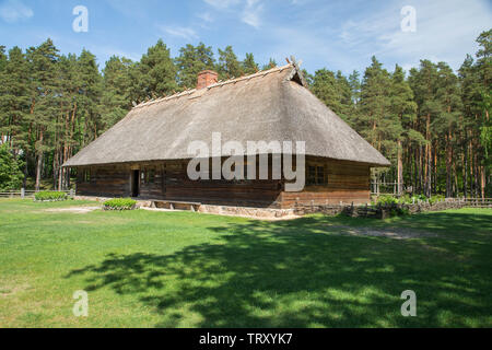 The Ethnographic Open-Air Museum of Latvia - Stock Photo