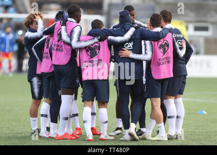 Team France during the UEFA Euro 2020 Qualifying Group H football match between Andorra and France on June 11, 2019 at Estadi Nacional in Andorra la Vella, Andorra - Photo Laurent Lairys / DPPI - Stock Photo