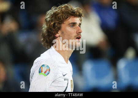 Antoine Griezmann of France during the UEFA Euro 2020 Qualifying Group H football match between Andorra and France on June 11, 2019 at Estadi Nacional in Andorra la Vella, Andorra - Photo Laurent Lairys / DPPI - Stock Photo