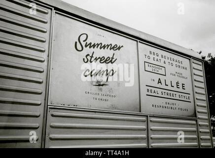 American Food Truck - Stock Photo
