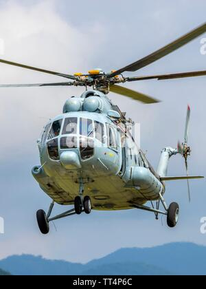 Croatian Air Force Mi-8 MTV-1 helicopter - Stock Photo